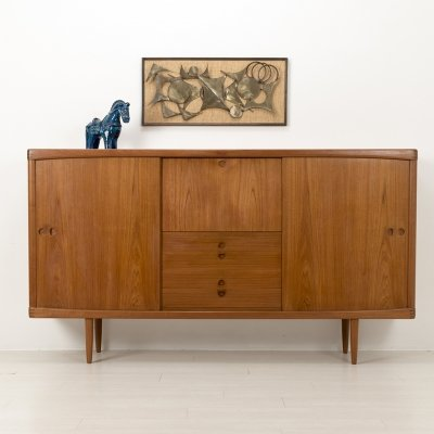 60's Danish design highboard H. Klein for Bramin