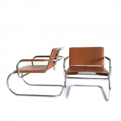 Pair of Cantilever chairs by Franco Albini for Tecta, 1980s