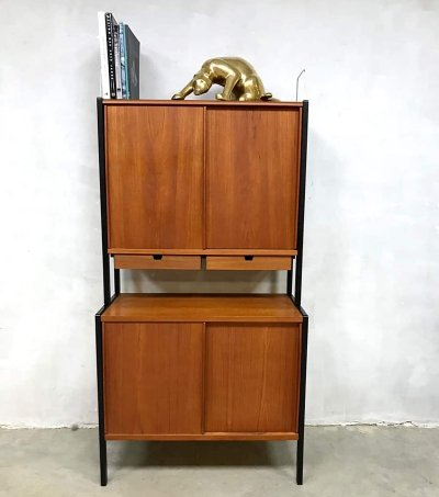 Midcentury vintage design Swedish teak cabinet by Bodafors