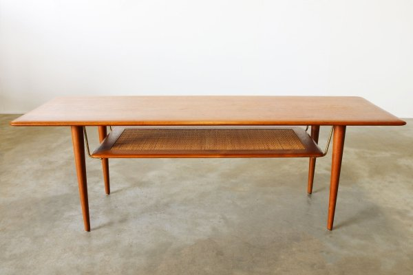 Danish FD516 coffee table in teak by Peter Hvidt & Orla Molgaard Nielsen, 1950