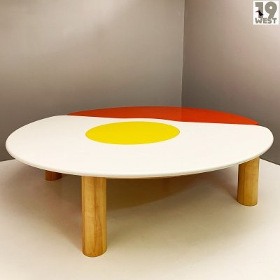 Unique pop art dining or conference table by Hanns-Rudolf von Wild