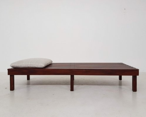 Mid-century slat Bench or Daybed
