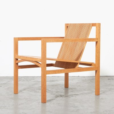 Ruud Jan Kokke Slat Easy Chair for 't Spectrum, 1986