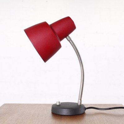 Vintage Desk Lamp with shrink paint, 1960s