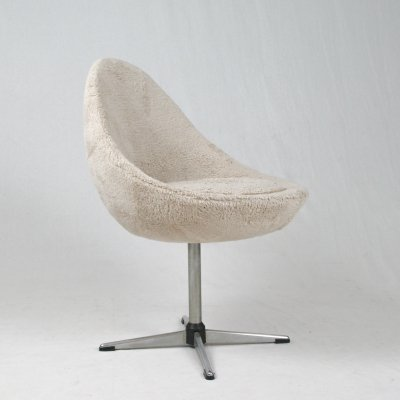 Pastoe 'little egg' revolving office chair