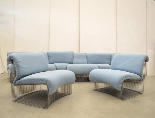 Pantonova sofa by Verner Panton for Fritz Hansen, 1970s