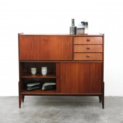 Highboard in Teak, 1960s