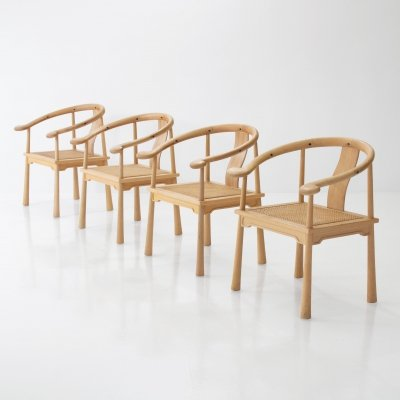 4 Richard Nissen Yin Chairs, Denmark 1960s