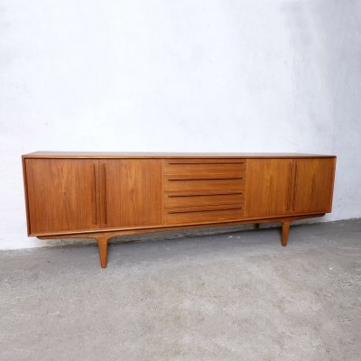 Large Danish Teak Sideboard, 1960s
