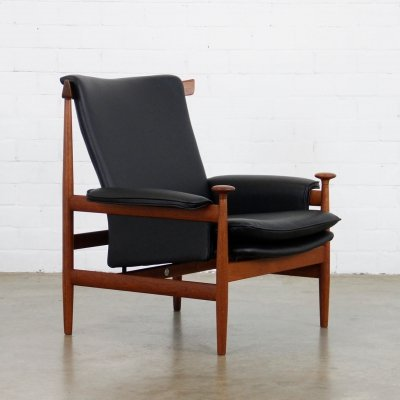 Bwana Model 152 lounge chair by Finn Juhl for France & Son, 1960s