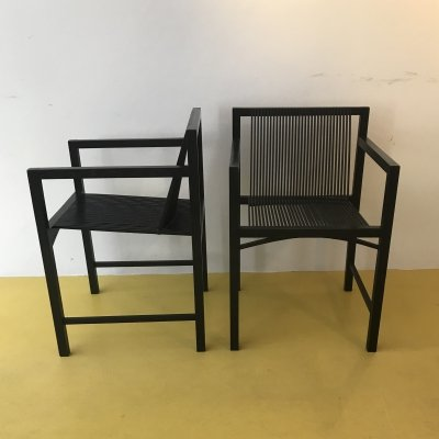 2 x Slat dining chair by Ruud Jan Kokke for Metaform, 1980s
