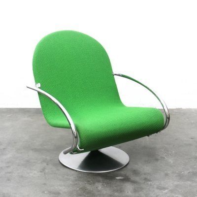 1-2-3 lounge chair by Verner Panton for Fritz Hansen, 1970s