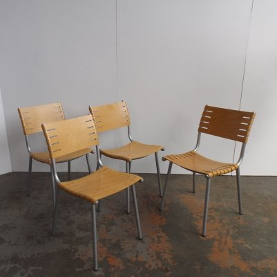 4 x dining chair by Ruud Jan Kokke for Harvink, 1980s