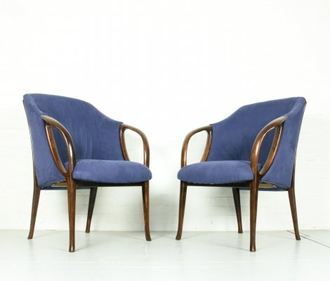 Pair of Armchairs, Italy 1980s