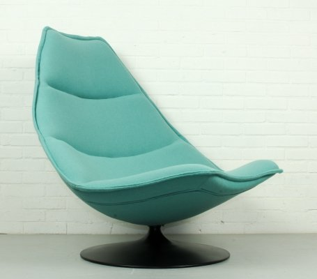 F585 lounge chair by Geoffrey Harcourt for Artifort, 1960s