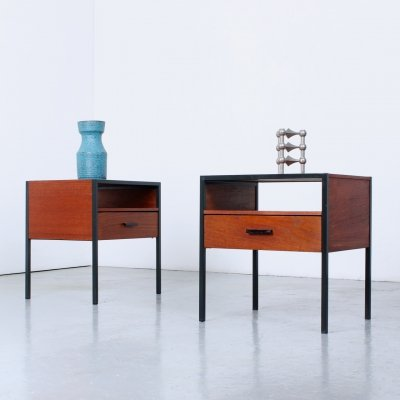 Pair of Carelle side tables by Auping, 1960s
