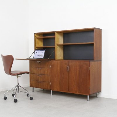 'Made to Measure' secretary cabinet by Cees Braakman for Pastoe, NL 1960s
