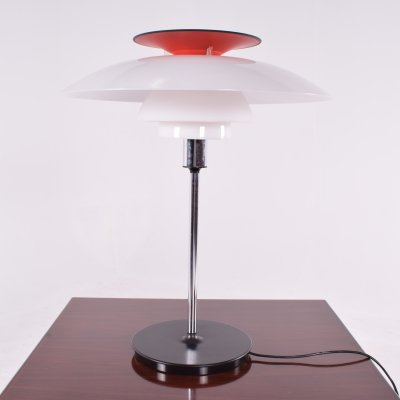 Poul Henningsen PH80 Table Lamp for Louis Poulsen, 1970