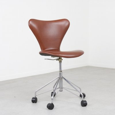 3117 office chair by Arne Jacobsen for Fritz Hansen, Denmark 1970s/80s