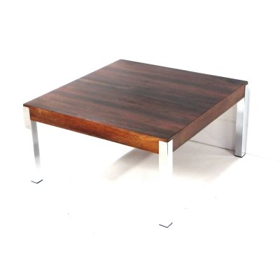 Stylish square vintage coffee table / side table, 1960s