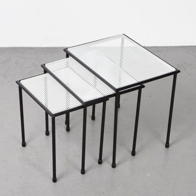 Floris Fiedeldij Nesting Tables for Artimeta, 1960s