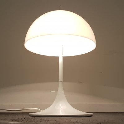 Vintage mushroom lamp produced by Hema Netherlands, 1975
