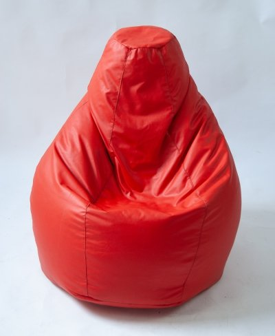 Zanotta Beanbag 'Sacco' in red, 1960s