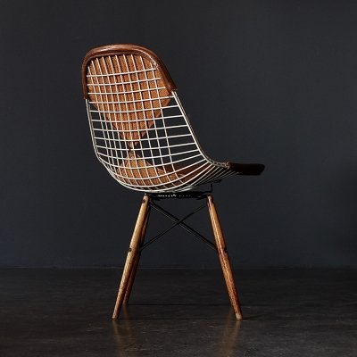 1st Generation PKW-2 dining chair by Charles & Ray Eames for Herman Miller, 1950s