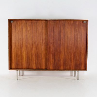 Rosewood cabinet with sliding doors by Alfred Hendrickx for Belform