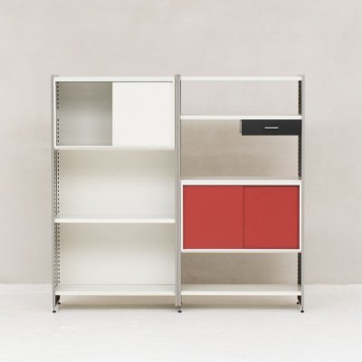 Model 5600 Modular storage unit by André Cordemeijer for Gispen, The Netherlands 1960's