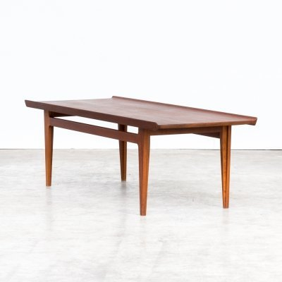 50s Finn Juhl FD532 teak coffee table for France & Son
