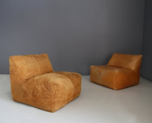 Pair of Le Bambole armchairs by Mario Bellini for B&B, 1970s