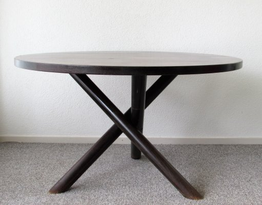 Plataan Dining Table by Gerard Geytenbeek for Zwijnenburg, 1960's