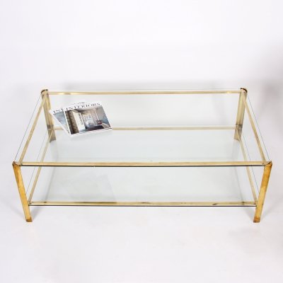 Two Tier Coffee Table by Jacques Quinet