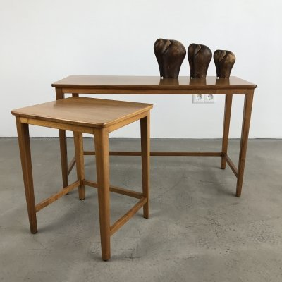 Danish set of Two Side Tables, 1970s
