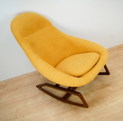 Rocking Chair by W. S. Chenery for Lurashell, 1960