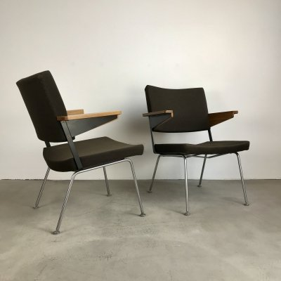 Set of Gispen Lounge Chairs by A.R. Cordemeyer, 1963