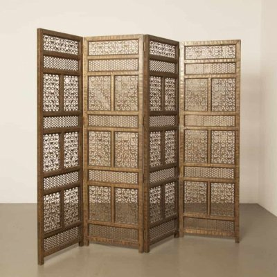 Moorish folding screen