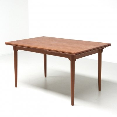 Dining table in teak by Gunni Omann