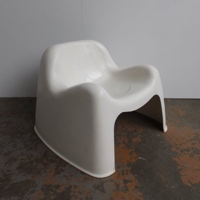 Toga lounge chair by Sergio Mazza for Artemide, 1960s