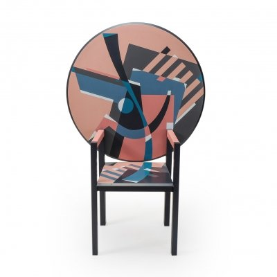 Post-Modern Design Zabro Chair Table by Alessandro Mendini