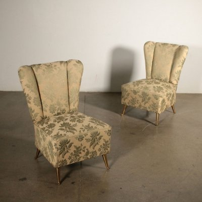 Pair of Vintage 1950s Armchairs
