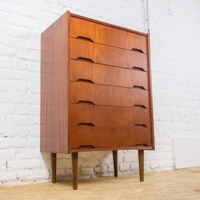 Chest of drawers in teak by EFA Mobler