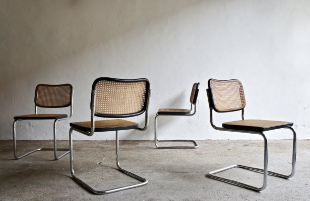 Original 1950's Cesca Chairs by Marcel Breuer for Gavina