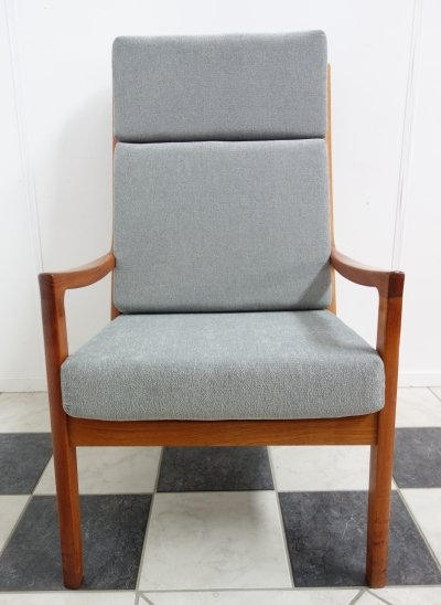 Senator arm chair by Ole Wanscher for P. Jeppesen Møbelfabrik, 1960s