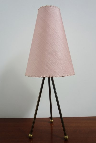 Tripod table lamp, 1960s