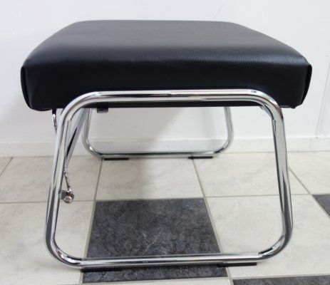 Stool with adjustable seat, 1980s