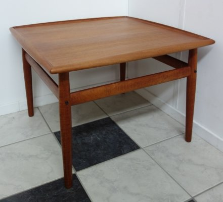 Teak coffee table by Grete Jalk for Glostrup Denmark, 1960s