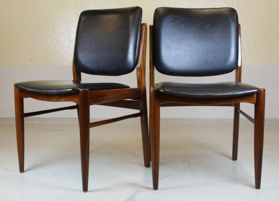 4 Vintage chairs, 1970s