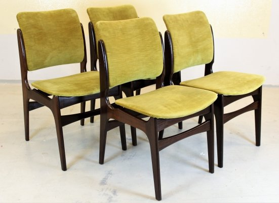 Set of 4 Vintage chairs, 1960s